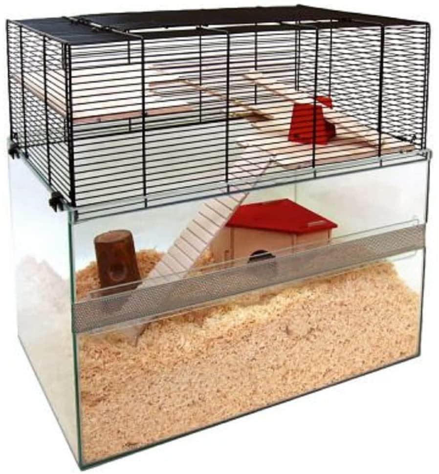 Terrarium verre hamster