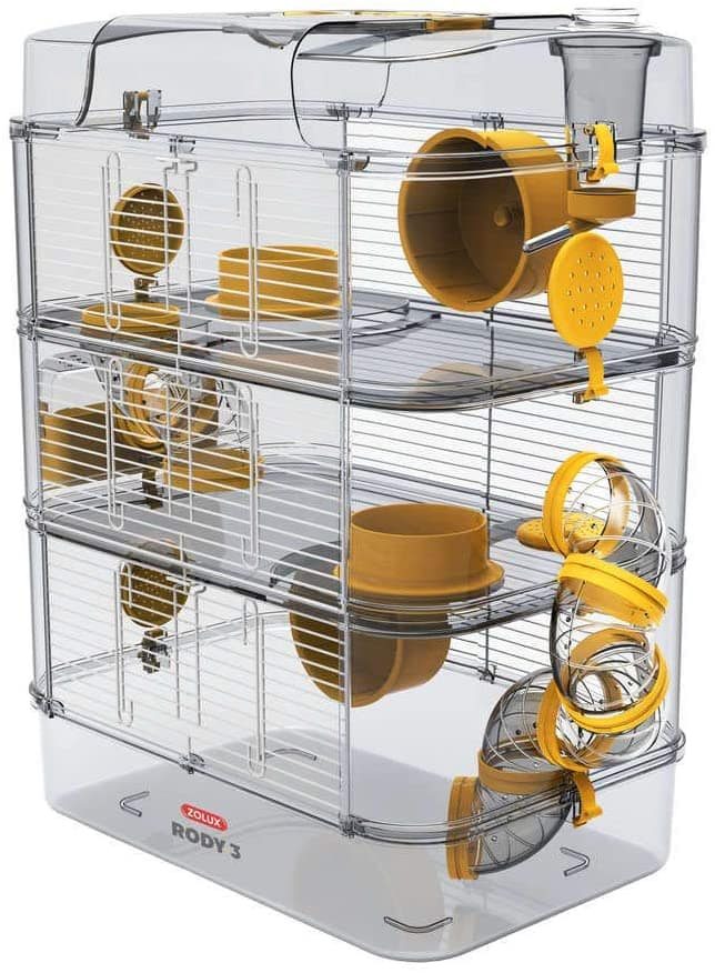 cage tube hamster