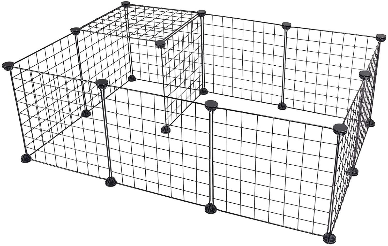 enclos métal hamster