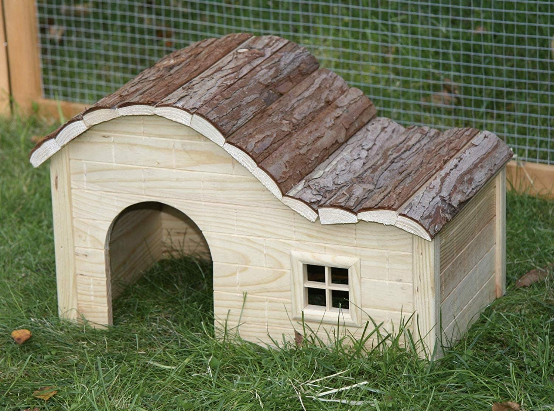 maison cabane hamster bois