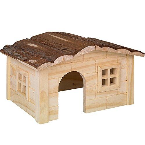 maisonnette cabane bois hamster